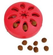 Disco portapremio in gomma – Gioco porta biscotti per il divertimento del tuo cane