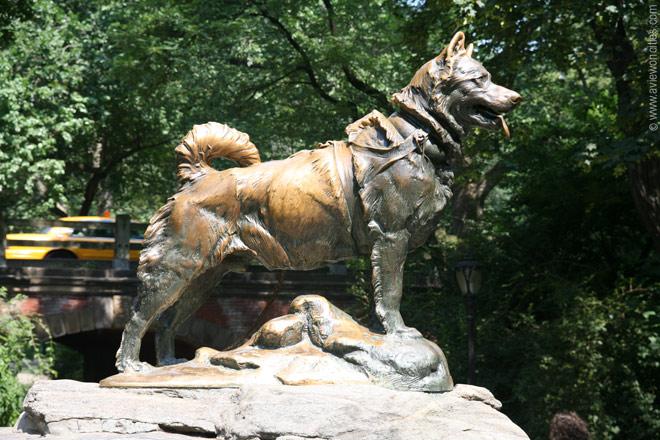 statua-balto-central-park-newyork