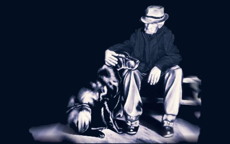 uomo-anziano-cane-auto