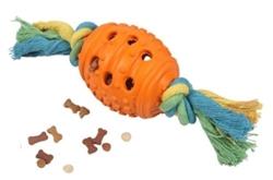 Cotonosso con palla in gomma – Gioco in cotone con palla in gomma porta premio