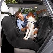 Lupex Shop Tmus130 Telo Multiuso per Sedile Posteriore Auto, Ideale per Cani