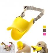 Museruola 'Quack' – Innovativa e morbida museruola per cane in silicone a forma di becco di anatra